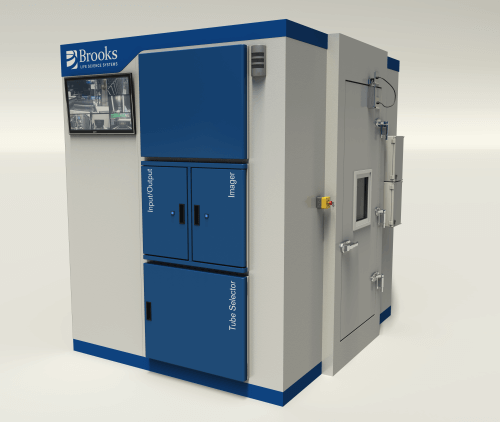 Automated Refrigeration Unit CGI
